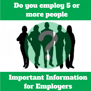 Do you employ 5 or more people